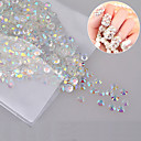 1000 pcs Rhinestones nail art Manicure Pedicure Daily Glitters / Classic / Wedding / Acrylic