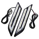 ieftine Lumini de Rulare Zi-exLED 2pcs Mașină Becuri 24 W SMD 5630 500 lm 66 LED Bec de Zi Pentru