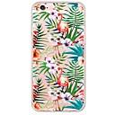 ieftine Cârlige Pescuit-Maska Pentru Apple iPhone X / iPhone 8 Plus / iPhone 8 Ultra subțire / Translucid Capac Spate Flamingo / Animal Moale TPU