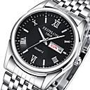 ieftine Ceasuri Bărbați-Pentru cupluri Ceas de Mână Oțel inoxidabil Argint 30 m Ceas Casual Analog Casual Modă Aristo - Negru Argintiu Albastru Un an Durată de Viaţă Baterie / Tianqiu 377