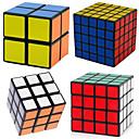 ieftine Cuburi Magice-4 piese Magic Cube IQ Cube Shengshou 2*2*2 3*3*3 4*4*4 5*5*5 Cub Viteză lină Cuburi Magice Alină Stresul puzzle cub nivel profesional Viteză Profesional Clasic & Fără Vârstă Pentru copii Adulți