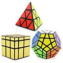 ieftine Cuburi Magice-3 PCS Magic Cube IQ Cube Shengshou pyraminx Străin Megaminx Cub Viteză lină Cuburi Magice Alină Stresul puzzle cub nivel profesional Viteză Profesional Clasic & Fără Vârstă Pentru copii Adulți Jucarii