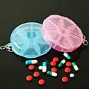 ieftine Stocare și Organizare-util portabil 7 zile pilula pilula vitamine pilula caz securizate compartiment mare (culoare ramdon)