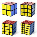 ieftine Audio & Video-4 piese Magic Cube IQ Cube Shengshou 2*2*2 3*3*3 4*4*4 5*5*5 Cub Viteză lină Cuburi Magice Alină Stresul puzzle cub nivel profesional Viteză Profesional Clasic & Fără Vârstă Pentru copii Adulți