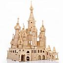 رخيصةأون 3D الألغاز-قطع تركيب3D تركيب تركيب خشبي قصر بناء مشهور سان بطرسبورج اصنع بنفسك محاكاة خشبي 1 pcs للأطفال للبالغين للصبيان للفتيات ألعاب هدية / النماذج الخشبية