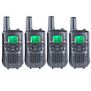 T899462C2P Handheld Low Battery Warning / VOX / Encryption 3KM-5KM 3KM-5KM 22 AAA 0.5W Walkie Talkie Two Way Radio