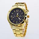 ieftine Ceasuri Bărbați-Bărbați Ceas de Mână Quartz Auriu Ceas Casual / Analog Clasic Casual Ceas Elegant - Negru Alb Albastru