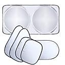 olcso Szemvédők-autóablak napfény árnyékoló autó szélvédő napellenző borító blokk elülső ablak napernyő árnyékolásvédő autóablak fólia 6db / készlet