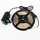 رخيصةأون شرائط ضوء مرنة LED-ماء zdm® 5m 300x3528 أبيض / الضوء الأبيض الدافئ أدى الاتحاد الأوروبي / الولايات المتحدة / المملكة المتحدة ac110-240v إلى dc12v2a المحولات
