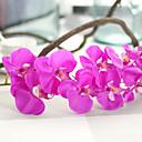 رخيصةأون أزهار اصطناعية-زهور اصطناعية 1 فرع النمط الرعوي الأوركيد / السحلبية أزهار الطاولة