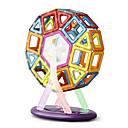 رخيصةأون ملصقات السيارة-64 pcs ألعاب المغناطيس مكعبات مغناطيسية البلاط المغناطيسي أحجار البناء تركيب المعدنية الحديد ABS مغناطيس محبوب اصنع بنفسك للأطفال / للبالغين للصبيان للفتيات ألعاب هدية