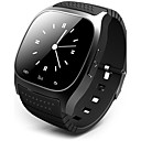 voordelige Galaxy J7 Hoesjes / covers-Heren Smart horloge Digitaal horloge Hybrid Watch Digitaal Rubber Zwart / Wit / Blauw Aanraakscherm Alarm Kalender Digitaal Luxe - Wit Zwart Blauw / Afstandsbediening / Stappentellers / Stopwatch