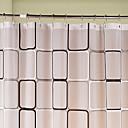 رخيصةأون أدوات الحمام-1PC ستائر الدش الحديث PEVA حمام