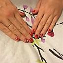 ieftine Îngrijire Unghii-30 pcs Bijuterie unghii nail art pedichiura si manichiura Încântător Clasic Zilnic / Plastic / Unghiul de bijuterii