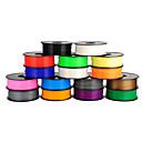 hesapli Tornavidalar ve Tornavida Setleri-3d baskı (1pcs, rasgele renkler) için anet 3d yazıcı Filament 1.75mm / 3mm pla