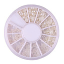 ieftine Breloc-1 pcs Bijuterie unghii nail art pedichiura si manichiura Zilnic Clasic / Perla / Unghiul de bijuterii / ABS