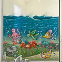 رخيصةأون الستائر-فيلم نافذة وملصقات زخرفة معاصر حيوان PVC / Vinyl حافة النافذة
