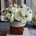 povoljno Dodaci za slušalice-Umjetna Cvijeće 1 Podružnica Moderna Peonies Cvjeće za stol