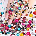 ieftine Îngrijire Unghii-2000 pcs Bijuterie unghii nail art pedichiura si manichiura Zilnic Glitters / Modă / Unghiul de bijuterii / ABS