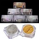 ieftine Artă Ștrasuri Colorate-2 Pudră Glitters Clasic Calitate superioară Zilnic