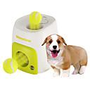 ieftine Jucării Câini-Minge Jucării de Mestecat Interactiv Minge tenis Jucării Cățel Animale de Companie  Jucarii 1 buc Dispenser Mâncare Minge tenis Plastic Cadou
