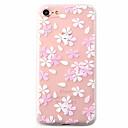 voordelige Galaxy J7 Hoesjes / covers-hoesje Voor Apple iPhone 7 Plus / iPhone 7 / iPhone 6s Plus Patroon Achterkant Bloem Zacht TPU