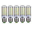 billige Sikkerhedscensorer-5pcs 10 W LED-kolbepærer 980 lm E26 / E27 T 72 LED Perler SMD 5730 Dekorativ Varm hvid Kold hvid 220-240 V / 5 stk. / RoHs