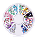 1 pcs Nail Jewelry nail art Manicure Pedicure Daily Metallic / Fashion / PVC(PolyVinyl Chloride)