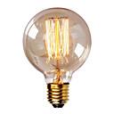 ieftine Becuri Incandescente-1 buc 40W E26 / E27 G80 Alb Cald 2300k Retro Intensitate Luminoasă Reglabilă Decorativ Incandescent Vintage Edison bec 220-240V