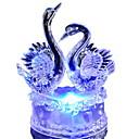 رخيصةأون مصابيح ليد مبتكرة-رومانسية ملونة بجعة أدى ضوء الليل جميل أدى سوان ليلة مصباح مثالية ل حفل زفاف هدية لصديق الأطفال