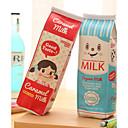 ieftine Instrumente Scris & Desen-cutie de lapte de design textil sac stilou