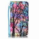 رخيصةأون حافظات / جرابات هواتف جالكسي A-غطاء من أجل Samsung Galaxy A5(2016) / A3(2016) محفظة / حامل البطاقات غطاء كامل للجسم شجرة قاسي جلد PU