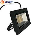 povoljno LED reflektori-zdm 1pc 60w 288 x 3020 smd leds 1400lm vatrootporna ip65 ultra-tanka projekcijska lampa (ac170-265v) super tanka crna od lijevanog aluminijskog ljuske