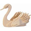 رخيصةأون 3D الألغاز-تركيب خشبي النماذج الخشبية بجعة المستوى المهني خشب 1 pcs للأطفال للبالغين للصبيان للفتيات ألعاب هدية