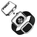 رخيصةأون شرائط ضوء مرنة LED-حزام إلى Apple Watch Series 4/3/2/1 Apple بكلة عصرية جلد طبيعي شريط المعصم