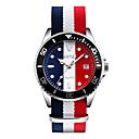 رخيصةأون Sony أغطية / كفرات-SKMEI رجالي ساعة المعصم كوارتز الأبيض / أزرق / أحمر 30 m مقاوم للماء رزنامه ساعة كاجوال مماثل ترف كلاسيكي كاجوال موضة - أبيض أحمر أزرق
