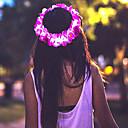 رخيصةأون مجوهرات الشعر-نسائي للفتيات زهري موديل الورد أزهار قماش مجوهرات الشعر زفاف مناسبة خاصة