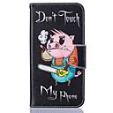 voordelige Galaxy J5 Hoesjes / covers-hoesje Voor Samsung Galaxy J5 (2016) / J5 / J3 Portemonnee / Kaarthouder / met standaard Volledig hoesje dier Hard PU-nahka