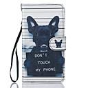 رخيصةأون قلادات-غطاء من أجل Samsung Galaxy J5 (2016) / J5 محفظة / حامل البطاقات / مع حامل غطاء كامل للجسم كلب قاسي جلد PU