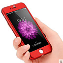 رخيصةأون Huawei أغطية / كفرات-غطاء من أجل Apple iPhone 8 Plus / iPhone 8 / iPhone 7 Plus ضد الصدمات / ضد الغبار غطاء كامل للجسم لون سادة قاسي الكمبيوتر الشخصي