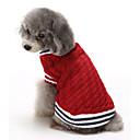 voordelige Galaxy Core 2-Kat Hond Truien Kerstmis Hondenkleding Kleurenblok Rood Blauw Katoen Kostuum Voor Winter Heren Dames Casual / Dagelijks Houd Warm