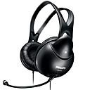 SHM1900 Ear / Headband Wired Headphones Dynamic Plastic Gaming Earphone Noise-isolating / Microphone / Volume Control Headset