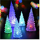 povoljno Dekoracija doma-2 kom Božić bor Božićne mini LED svjetla šarene noćno (Random boja)