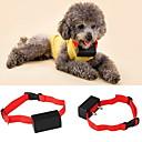 ieftine Bijuterii de Corp-Câine coaja Guler anti-Scoarță Electronic / Electric Vibrație Mată Nailon Rosu