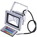ieftine Proiectoare LED-Proiectoare LED Rezistent la apă / Controlat de la distanță / Intensitate Luminoasă Reglabilă RGB 12 V / 24 V / 85-265 V Lumina Exterior 1 LED-uri de margele
