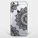 povoljno Maske/futrole za Galaxy S seriju-Θήκη Za Apple iPhone 7 Plus / iPhone 7 / iPhone 6s Plus Uzorak Stražnja maska Mandala / Cvijet Mekano TPU