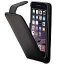 abordables Cámaras IP-Funda Para Apple iPhone 7 Plus / iPhone 7 / iPhone 6s Plus Soporte de Coche / Flip Funda de Cuerpo Entero Un Color Dura Cuero de PU