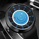 ieftine Breloage-Bărbați Ceas de Mână Quartz Silicon Negru Cool Analog Vintage Casual Modă - Albastru Roz Negru / Argintiu Un an Durată de Viaţă Baterie