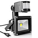 ieftine Aplice de Exterior-1 buc 10 W Proiectoare LED Senzor cu Infraroșii / Detectarea mișcării de mișcare Alb Cald / Alb Rece 85-265 V Lumina Exterior 1 LED-uri de margele
