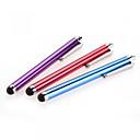 povoljno Mobitel čari-szkinston 3-u-1 novi stil serije kapacitivni zaslon osjetljiv na dodir stylus olovka galvanske metali kapacitet olovka za iPhone / iPod /